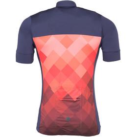 Triple2 Velozip Performance Kortärmad cykeltröja Herr Jersey Men röd/blå